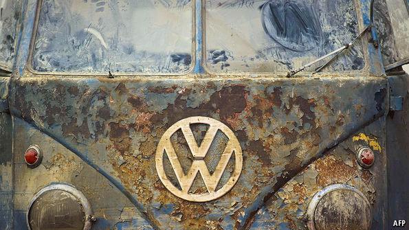 VW van front